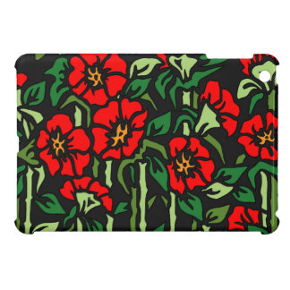 Poppies iPad Mini Cover