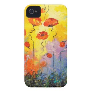 Poppies iPhone 4 Case-Mate Case