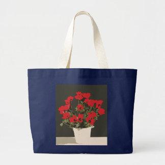 Poppies Large Tote Bag