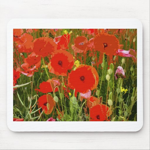 POPPIES MOUSE PADS