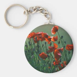 Poppies No. 3   Keyring