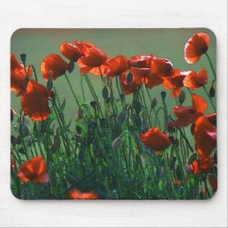 Poppies no. 3 | Mousepad