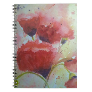 Poppies Notebook