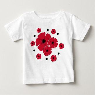 Poppies & Polka Dots Baby T-Shirt