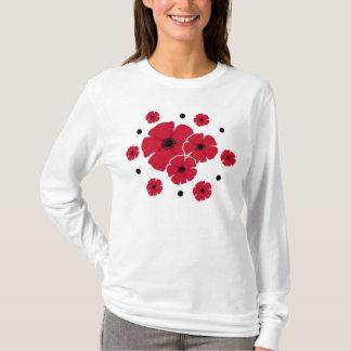 Poppies & Polka Dots T-Shirt