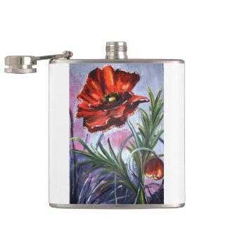 Poppies Poppy Office Personalize Destiny Destiny'S Flask