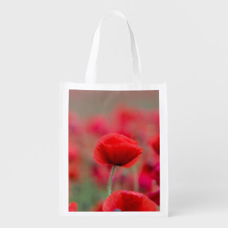 Poppies Reusable Bag