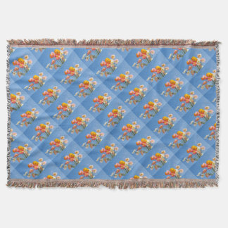 Poppies Throw Blanket