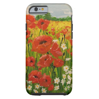 Poppies Tough iPhone 6 Case