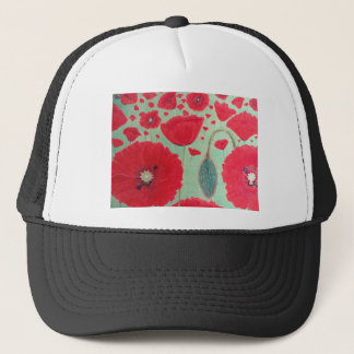 Poppies Trucker Hat