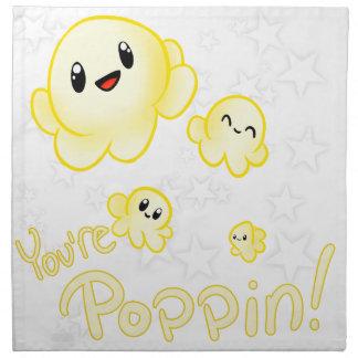 Poppin Popcorn Napkin