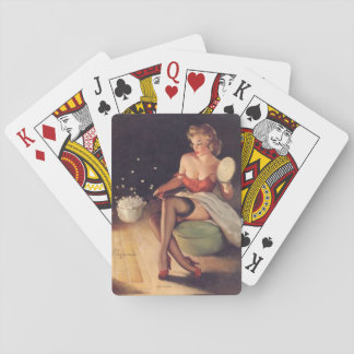 Popping Corn Pin Up Playing Cards