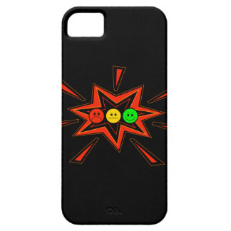 Popping Horizontal Moody Stoplight iPhone 5 Cover