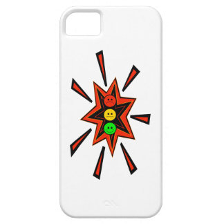 Popping Moody Stoplight iPhone 5 Cover