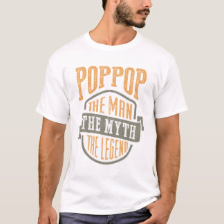 Poppop. The Man. Godfather T-shirts