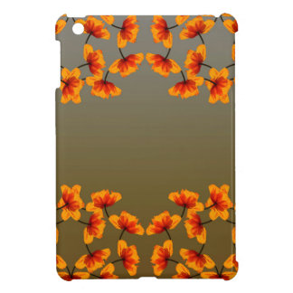 poppy4 pattern iPad mini covers