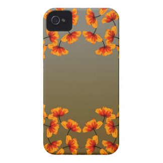 poppy4 pattern iPhone 4 covers