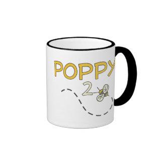 Poppy 2 Bee Mugs