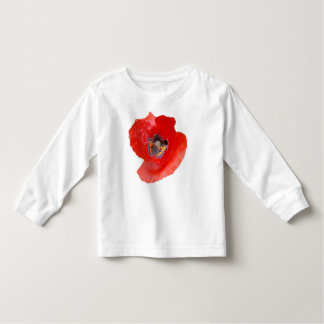 Poppy and Butterfly By KABFA Desings Toddler T-Shirt