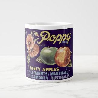 Poppy Apples Jumbo Mug