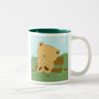 Poppy Bear Two-Tone Coffee Mug