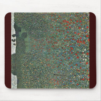 Poppy By Klimt Gustav Mousepads