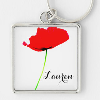 POPPY Collection (1) Personalized Premium Keychain