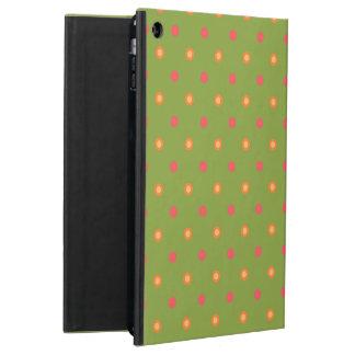 Poppy Colors Polka Dots Powis iCase iPad Case