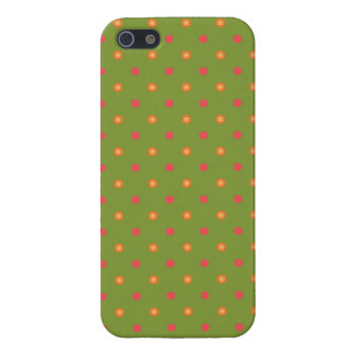 Poppy Colours Polka Dots iPhone 5 5s Savvy Case Cases For iPhone 5