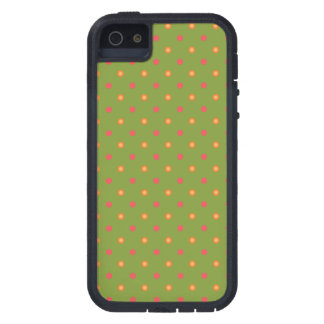 Poppy Colours Polka Dots iPhone 5 5s Xtreme Case iPhone 5 Covers