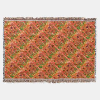 poppy day throw blanket