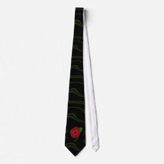 Poppy day - tie