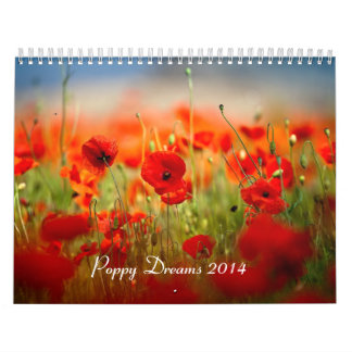 Poppy Dreams 2014 Wall Calendars