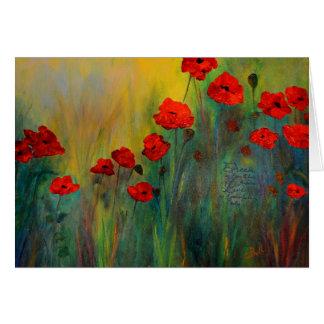 Poppy Dreams Art Card