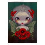 """Poppy Fairy"" Greeting Card"