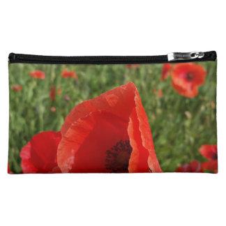 Poppy Field Bag Makeup Bags