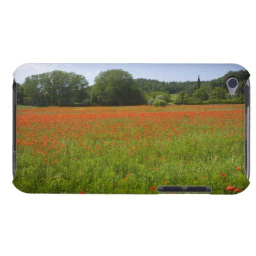 Poppy field, Chiusi, Italy iPod Touch Cases