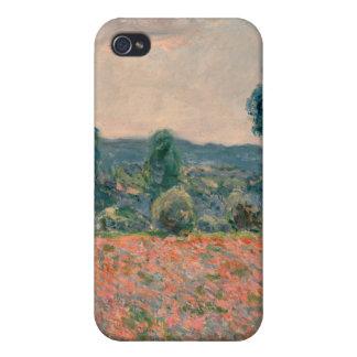Poppy Field - Claude Monet iPhone 4/4S Cover