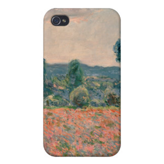 Poppy Field - Claude Monet iPhone 4/4S Cover