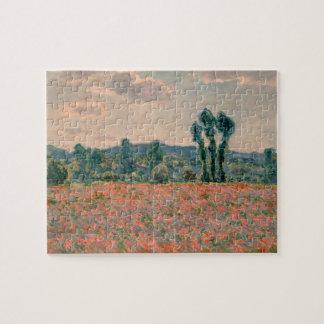 Poppy Field - Claude Monet Jigsaw Puzzle