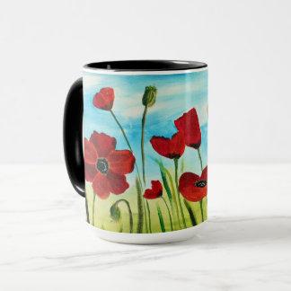 Poppy Field Coffee Mug
