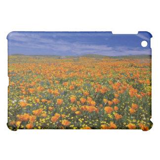 Poppy field flowers iPad mini cover
