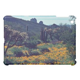 Poppy Field flowers iPad Mini Case