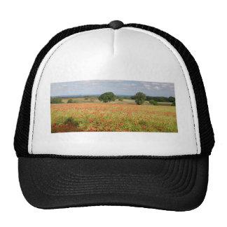 Poppy Field Mesh Hats