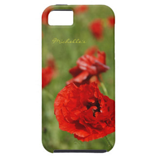 Poppy Field iPhone 5 Covers