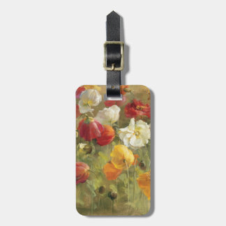 Poppy Field Luggage Tag