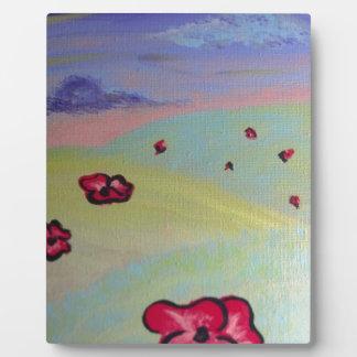 Poppy Field Plaques