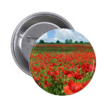 Poppy Fields Button