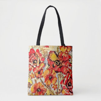 Poppy Fields Design 1 tote