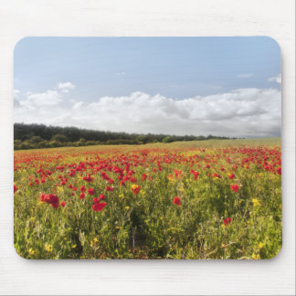 Poppy Fields II mouse mat Mouse Pad